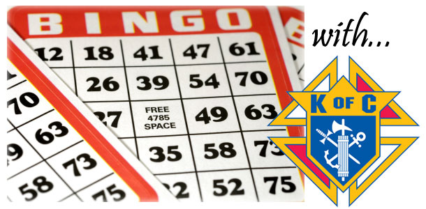 Bingo with Knights of Columbus